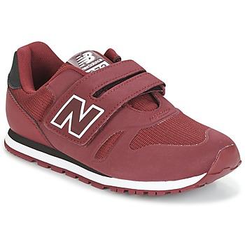 鞋子 儿童 球鞋基本款 New Balance新百伦 KA374 波尔多红