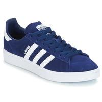 鞋子 男孩 球鞋基本款 Adidas Originals 阿迪达斯三叶草 CAMPUS J 海蓝色
