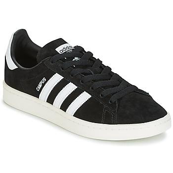 鞋子 球鞋基本款 Adidas Originals 阿迪达斯三叶草 CAMPUS 黑色