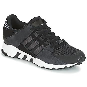 鞋子 男士 球鞋基本款 Adidas Originals 阿迪达斯三叶草 EQT SUPPORT RF 黑色