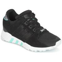 鞋子 女士 球鞋基本款 Adidas Originals 阿迪达斯三叶草 EQT SUPPORT RF W 黑色