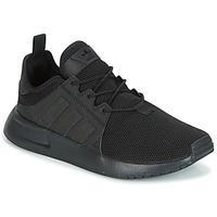 鞋子 儿童 球鞋基本款 Adidas Originals 阿迪达斯三叶草 X_PLR 黑色