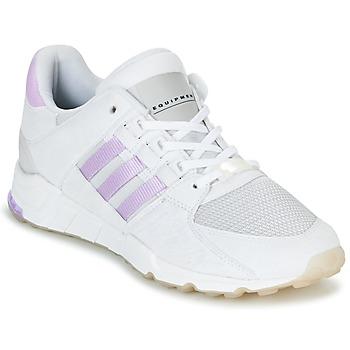 鞋子 女士 球鞋基本款 Adidas Originals 阿迪达斯三叶草 EQT SUPPORT RF W 白色