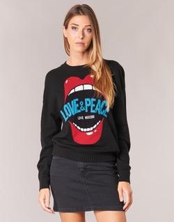 衣服 女士 羊毛衫 Love Moschino WS91G00X0683 黑色