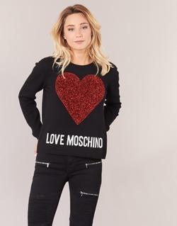 衣服 女士 羊毛衫 Love Moschino WS89G01X0683 黑色
