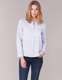 衣服 女士 衬衣/长袖衬衫 Casual Attitude GAMOU 蓝色 / 白色