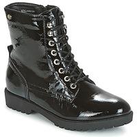 鞋子 女士 短筒靴 Xti 波尔蒂伊 PAMIDI 黑色