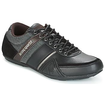 鞋子 男士 球鞋基本款 Le Coq Sportif 乐卡克 ANDELOT S LEA/2TONES 黑色