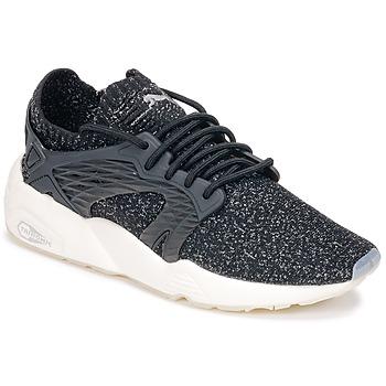 鞋子 跑鞋 Puma 彪马 BLAZE CAGE EVOKNIT 黑色 / 白色