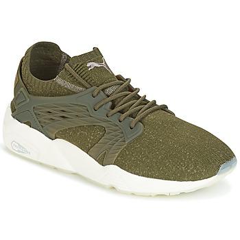 鞋子 男士 球鞋基本款 Puma 彪马 BLAZE CAGE EVOKNIT 卡其色