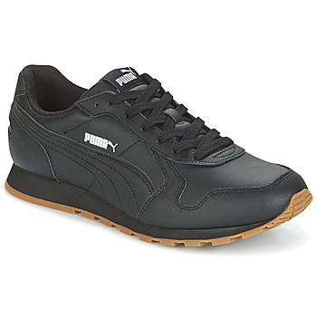 鞋子 男士 球鞋基本款 Puma 彪马 ST Runner Full L 黑色