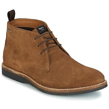 鞋子 男士 短筒靴 Pepe jeans KENT CHUCCA 棕色