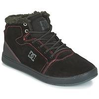 鞋子 儿童 高帮鞋 DC Shoes CRISIS HIGH WNT 黑色 / 红色 / 白色