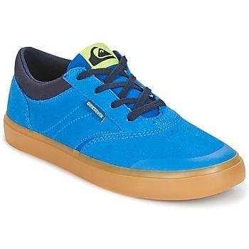 鞋子 儿童 高帮鞋 Quiksilver 极速骑板 BURC YOUTH B SHOE XBCB 蓝色 / 棕色