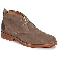 鞋子 男士 短筒靴 Hudson MATTEO 灰褐色