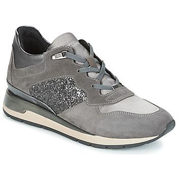 鞋子 女士 球鞋基本款 Geox 健乐士 D SHAHIRA 灰色