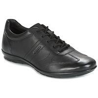 鞋子 男士 球鞋基本款 Geox 健乐士 UOMO SYMBOL 黑色
