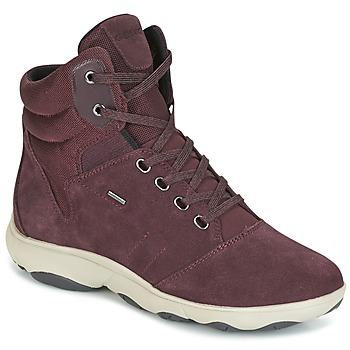 鞋子 女士 高帮鞋 Geox 健乐士 D NEBULA 4 X 4 B ABX 波尔多红