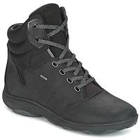 鞋子 女士 高帮鞋 Geox 健乐士 D NEBULA 4 X 4 B ABX 黑色