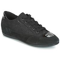 鞋子 女士 球鞋基本款 Geox 健乐士 D NEW MOENA 黑色