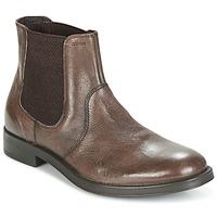 鞋子 男士 短筒靴 Geox 健乐士 UOMO BLADE 棕色