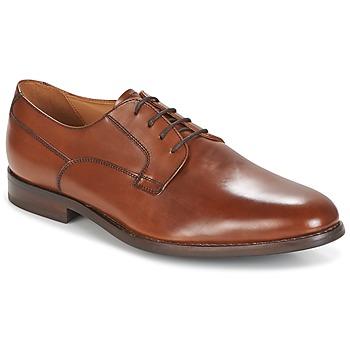 鞋子 男士 德比 Geox 健乐士 U HAMPSTEAD 棕色