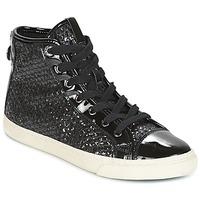 鞋子 女士 高帮鞋 Geox 健乐士 D NEW CLUB 黑色