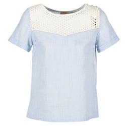 衣服 女士 女士上衣/罩衫 Betty London GERMA 白色 / 蓝色