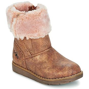 鞋子 女孩 短筒靴 Mod'8 ALTECIA 金色