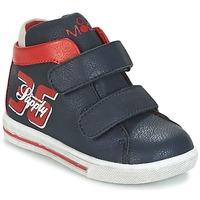 鞋子 男孩 高帮鞋 Mod'8 STARIUS 海蓝色 / 红色