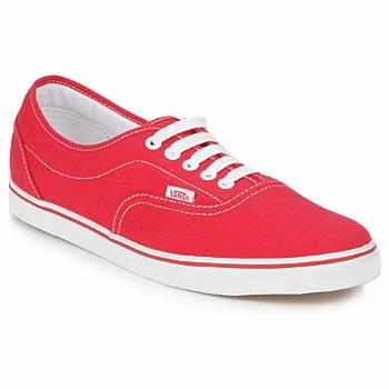 鞋子 球鞋基本款 Vans 范斯 LPE 红色