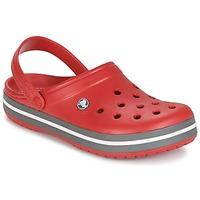 鞋子 洞洞鞋/圆头拖鞋 crocs 卡骆驰 CROCBAND 红色