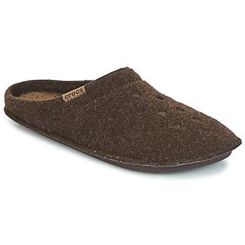 鞋子 拖鞋 crocs 卡骆驰 CLASSIC SLIPPER 棕色