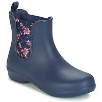 鞋子 女士 短筒靴 crocs 卡骆驰 CROCS FREESAIL CHELSEA 海蓝色