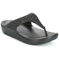 鞋子 女士 凉鞋 crocs 卡骆驰 SLOANE 黑色
