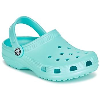 鞋子 儿童 洞洞鞋/圆头拖鞋 crocs 卡骆驰 CLASSIC CLOG KIDS 蓝色