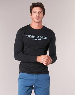 衣服 男士 长袖T恤 Teddy Smith 泰迪 史密斯 TICLASS 3 ML 黑色