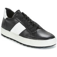 鞋子 男士 球鞋基本款 Bikkembergs TRACK-ER 966 LEATHER 黑色 / 白色