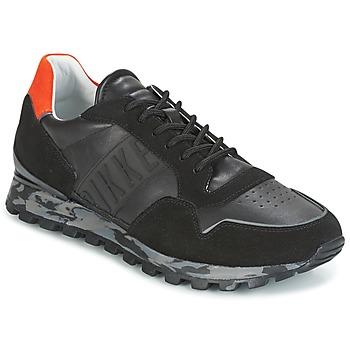 鞋子 男士 球鞋基本款 Bikkembergs FEND-ER 946 黑色 / 橙色