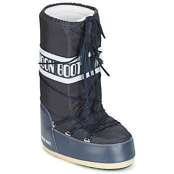 鞋子 雪地靴 Moon Boot MOON BOOT NYLON 蓝色