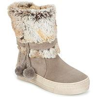 鞋子 女孩 短筒靴 Primigi PSA 8164 灰色 / 玫瑰色