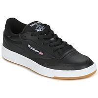 鞋子 球鞋基本款 Reebok Classic CLUB C 85 C 黑色