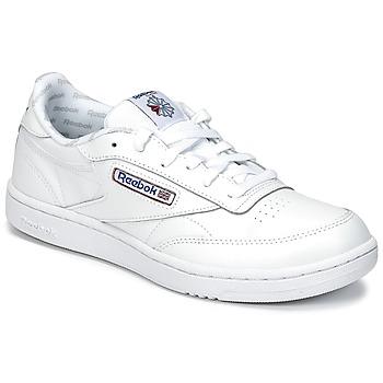 鞋子 儿童 球鞋基本款 Reebok Classic CLUB C 白色