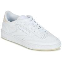 鞋子 女士 球鞋基本款 Reebok Classic CLUB C 85 L THR 白色
