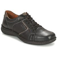 鞋子 男士 德比 Josef Seibel ANVERS 49 黑色