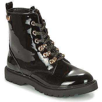 鞋子 女士 短筒靴 Kaporal SANGOAN 黑色