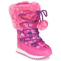 鞋子 女孩 雪地靴 Agatha Ruiz de la Prada 阿嘉莎·鲁兹·德 APRES-SKI AGATHA 玫瑰色