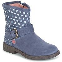 鞋子 女孩 短筒靴 Agatha Ruiz de la Prada 阿嘉莎·鲁兹·德 VAGABUNDA AGATHA 蓝色
