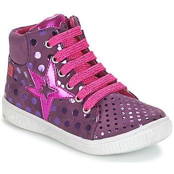 鞋子 女孩 高帮鞋 Agatha Ruiz de la Prada 阿嘉莎·鲁兹·德 FLOW 紫罗兰