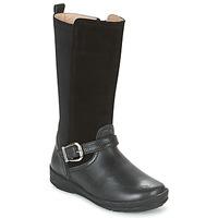 鞋子 女孩 都市靴 Garvalin NEW FLORES 黑色